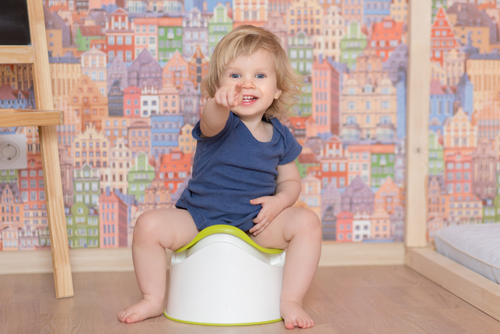 Potty Training and Fussy Eaters